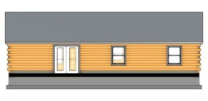 Edenton Log Cabin Plan 4