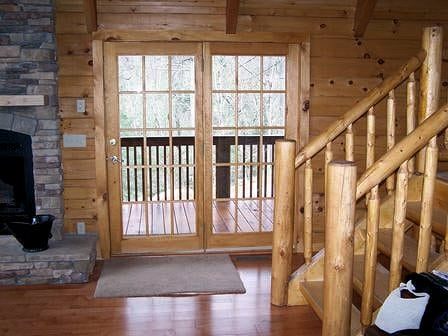 cheap log cabin kits, available every day at tar river log homes!
