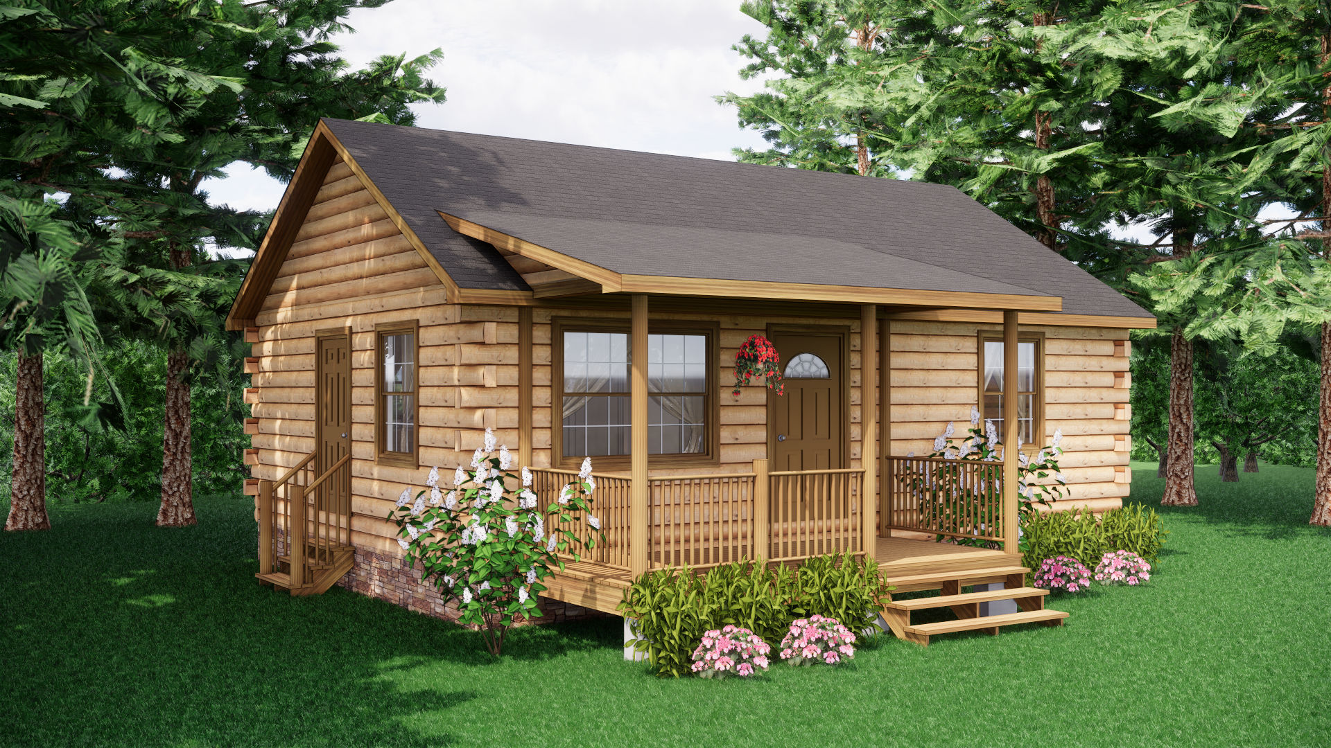 Small Log Cabins - Small Log Cabin Kits 1
