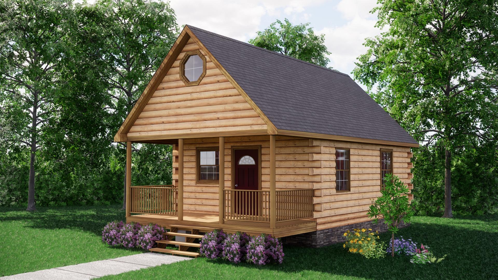Small Log Cabins - Small Log Cabin Kits 4