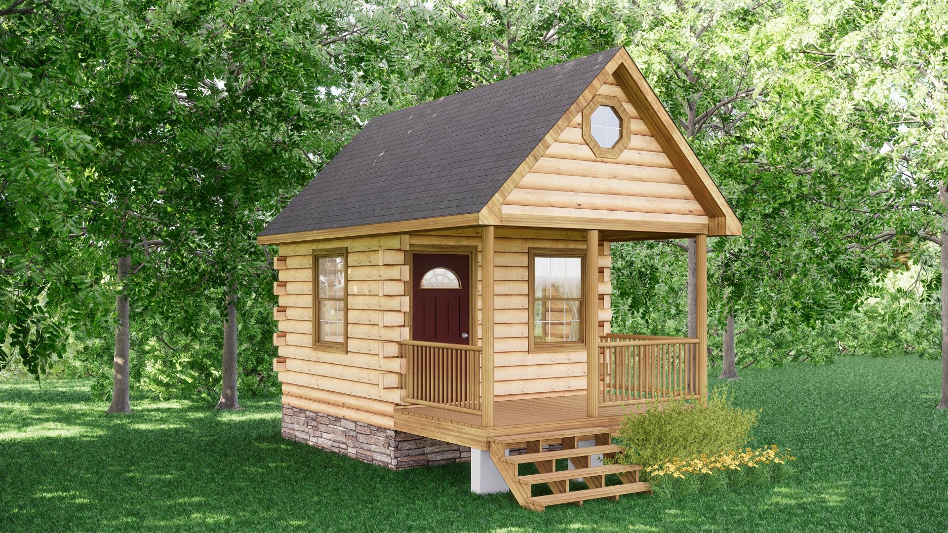 Small Log Cabins - Small Log Cabin Kits 8