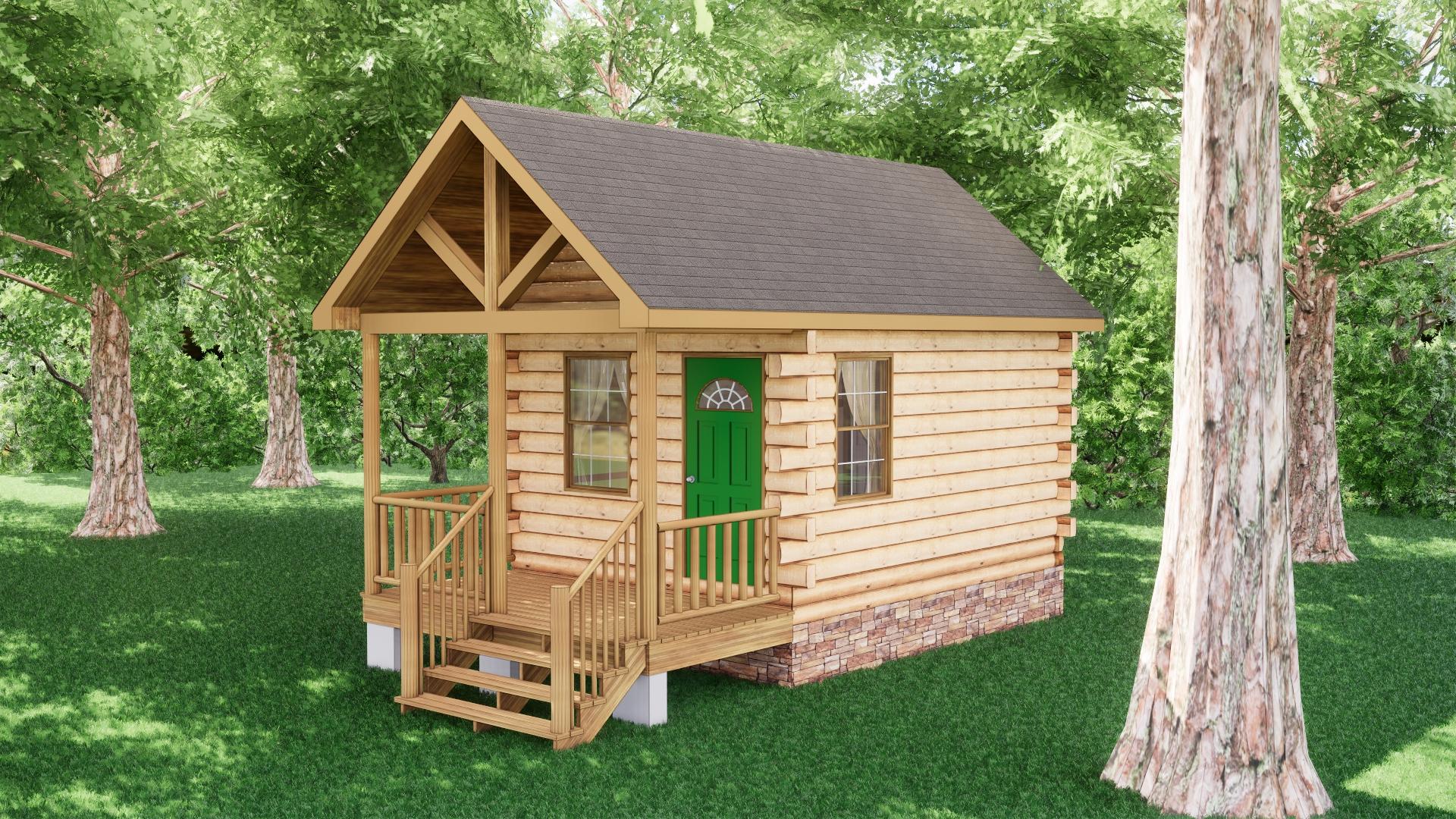 Small Log Cabins - Small Log Cabin Kits 9