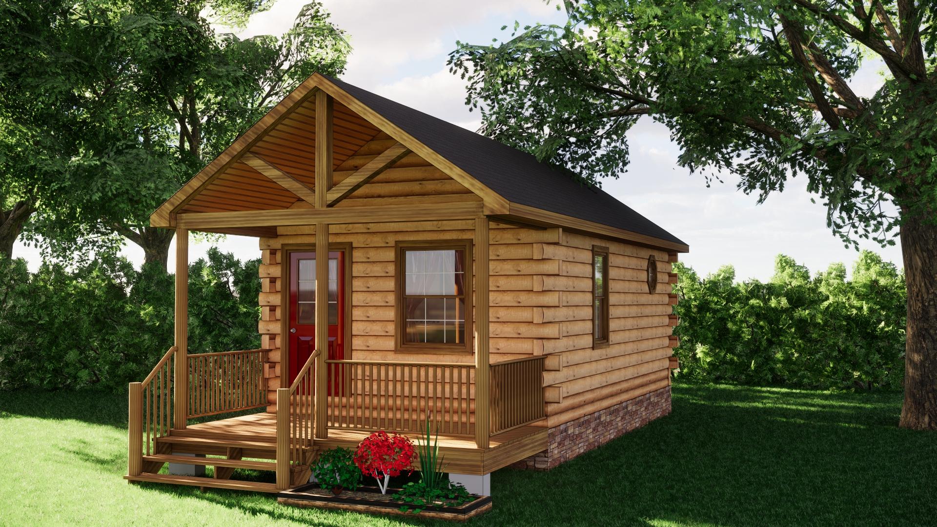 Small Log Cabins - Small Log Cabin Kits 10