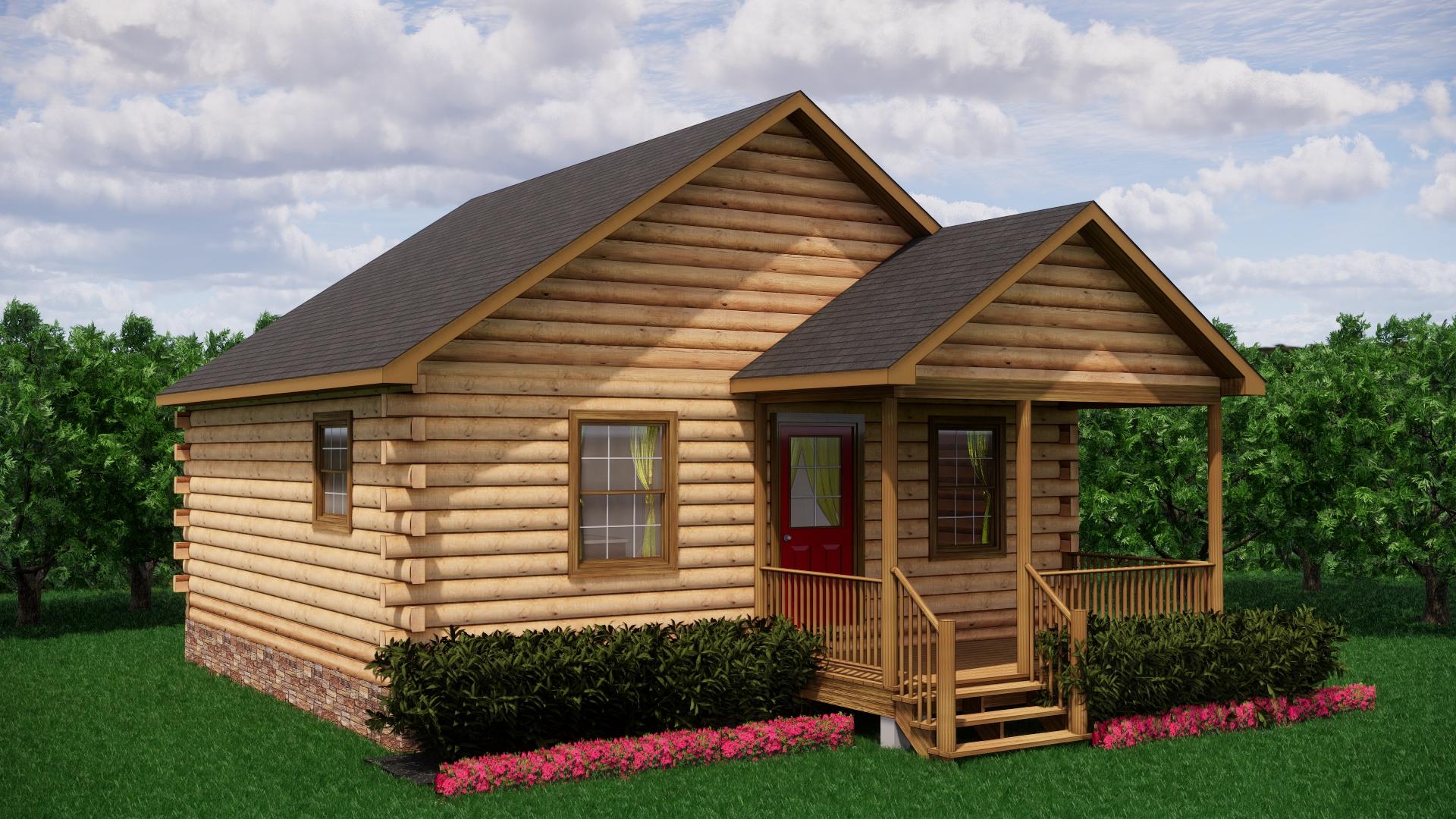 Small Log Cabins - Small Log Cabin Kits 15